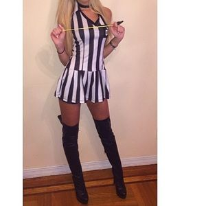 3for$45 sexy Referee Halloween costume